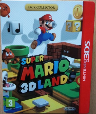 Super Mario 3D Land - Pack Collector - 3DS
