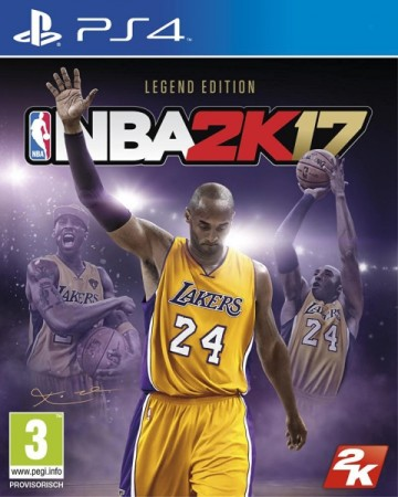 NBA 2K17 Kobe Legend Edition - Playstation 4