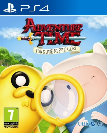 Adventure Time : Finn et Jake Mènent l'Enquête - Playstation 4