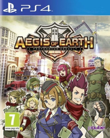 Aegis Of Earth : Protonovus Assault - Playstation 4