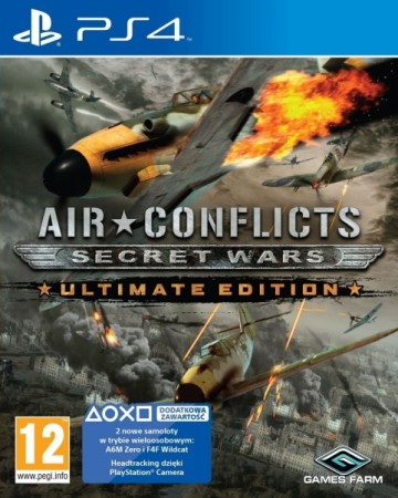 Air Conflicts : Secret Wars - Ultimate Edition - Playstation 4