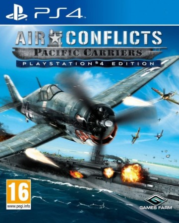 Air Conflicts - Pacific Carriers - Playstation 4