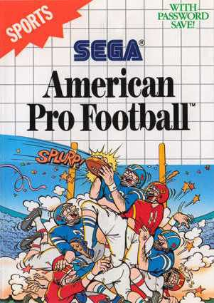 American Pro Football - Master System