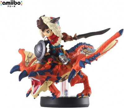 Amiibo Monster Hunter Stories - One-Eyed Liolaeus & Rider Boy (import japonais) - 3DS