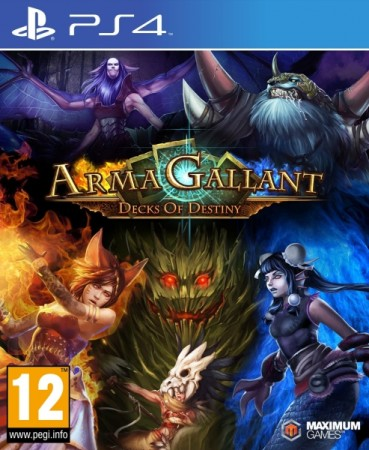 ArmaGallant : Decks of Destiny - Playstation 4