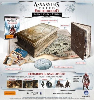Assassin's Creed : Brotherhood - Edition codex - Playstation 3