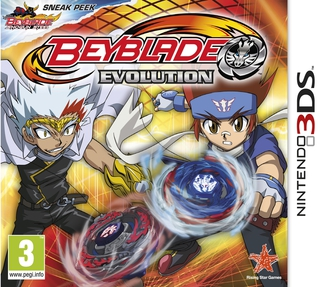 Beyblade Evolution (sans toupie) - 3DS