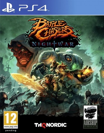 Battle Chasers : Nightwar - Playstation 4