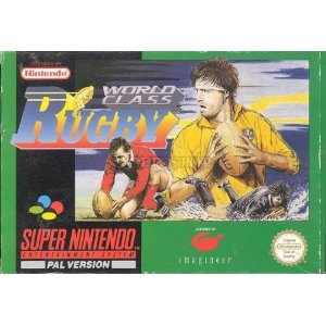 World Class Rugby - Super Nintendo