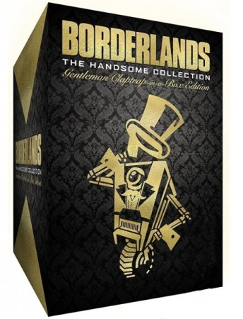 Borderlands : The Handsome Collection - Edition Gentleman Claptrap-in-a-box (Sans Jeu) - Playstation 4