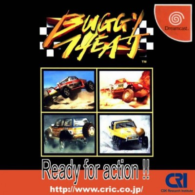 Buggy Heat (import japonais) sous blister - Dreamcast