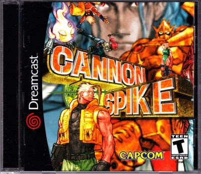 Cannon Spike (import USA) - Dreamcast