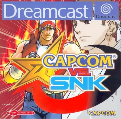 Capcom vs Snk - Dreamcast