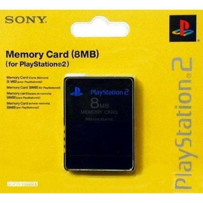 Carte Mémoire Officielle 8 MB sous blister - Playstation 2