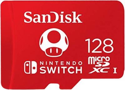carte sd 128 go pas cher Carte Mémoire Micro SD (128 Go) SanDisk Mario   SWI   Accessoire