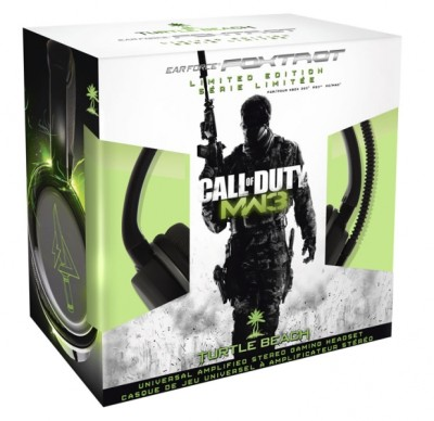 Casque Turtle Beach Ear Force Foxtrot Call of Duty Modern Warfare 3 - Playstation 3