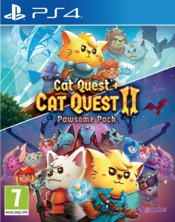 Cat Quest + Cat Quest 2 Pawsome Pack  - Playstation 4