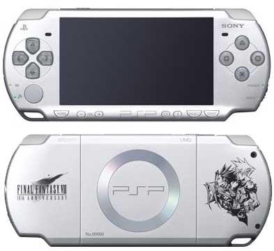 Console PSP 2000 Slim & Lite - Edition Final Fantasy 7 Crisis Core (Sans jeu) - Playstation Portable