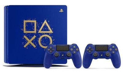Console Playstation 4 Slim (500 Go) Days of Play Special Edition - Playstation 4