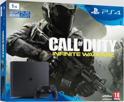 Console Playstation 4 1 To + Call Of Duty Infinite Warfare - Playstation 4
