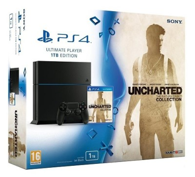 Console Playstation 4 (1 To) - Uncharted Nathan Drake Collection - Playstation 4