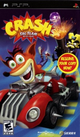 Crash Tag Team Racing (import USA) - Playstation Portable