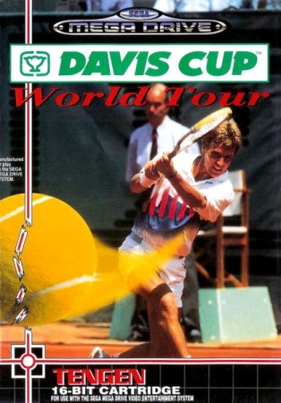 Davis cup world tour - Megadrive