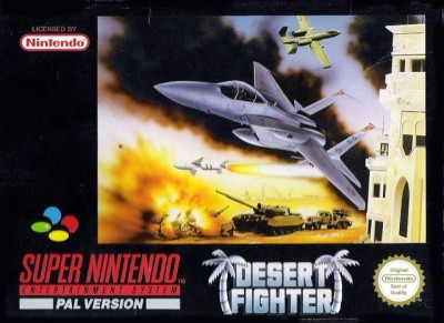 Desert Fighter - Super Nintendo