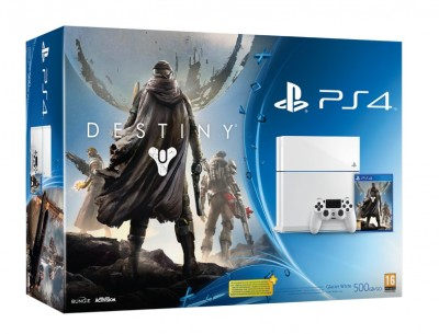 Console Playstation 4 (500 Go) Blanche + Destiny - Playstation 4