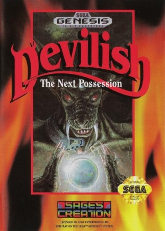 Devilish (import USA) - Megadrive