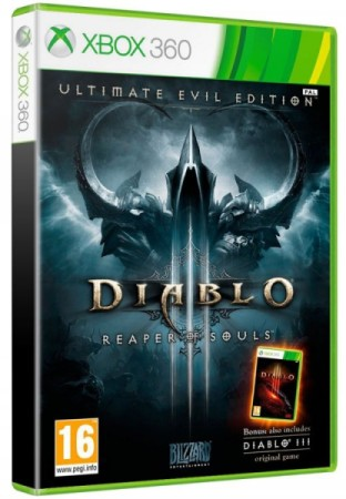Diablo III Ultimate evil edition: Reaper of Souls - Xbox 360