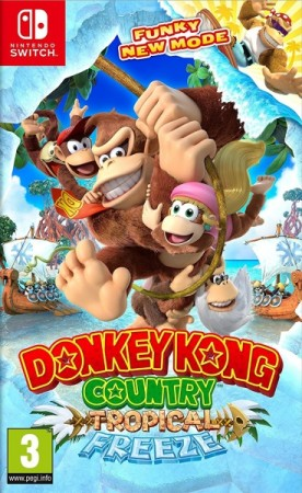 Donkey Kong Country : Tropical Freeze - Switch