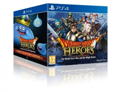 Dragon Quest Heroes: Le Crépuscule de l'Arbre du Monde - Édition Collector sous blister - Playstation 4
