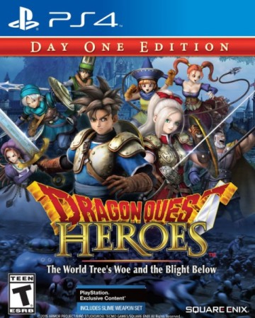 Dragon Quest Heroes : Le Crépuscule de l'Arbre du Monde (Import USA) - Playstation 4