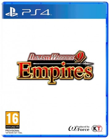 Dynasty Warriors 9 Empires  - Playstation 4