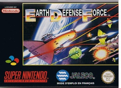 Earth Defense Force - Super Nintendo