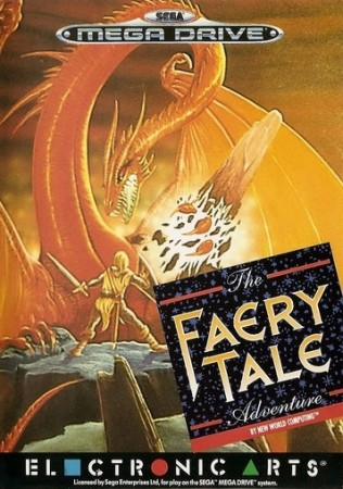 The Faery Tale Adventure en boîte - Megadrive