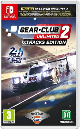 Gear.Club Unlimited 2 Tracks Edition  - Switch