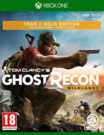 Ghost Recon : Wildlands Year 2 Gold Edition sous blister  - Xbox One
