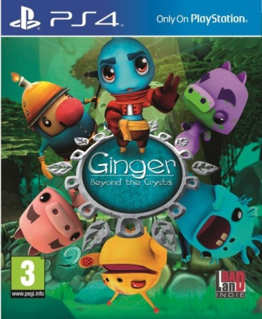 Ginger : Beyond The Crystal - Playstation 4