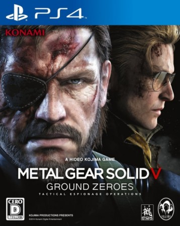 Metal Gear Solid V : Ground Zeroes (import japonais) - Playstation 4