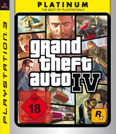 Grand Theft Auto IV Platinum - Playstation 3
