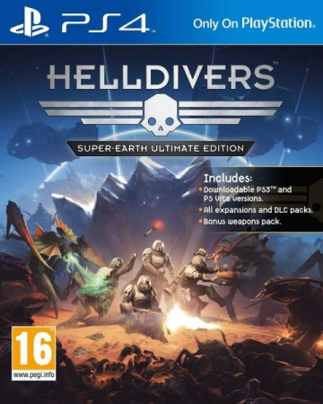 Helldivers : Super-Earth - Ultimate Edition - Playstation 4