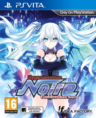 Hyperdevotion Noire: Goddess Black Heart - Playstation Vita