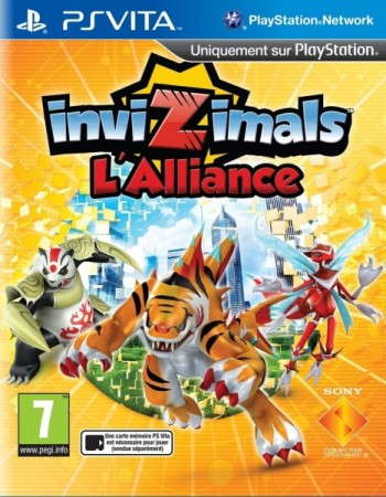 Invizimals: L'alliance - Playstation Vita