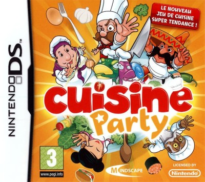 Cuisine Party Ds Jeu Occasion Pas Cher Gamecash