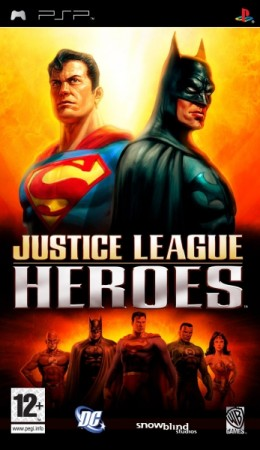 Justice League Heroes - Playstation Portable