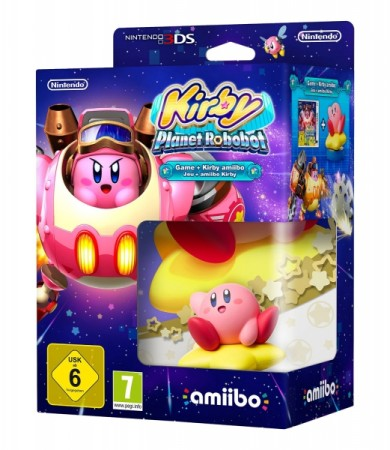Kirby Planet Robobot et Amiibo Kirby - 3DS