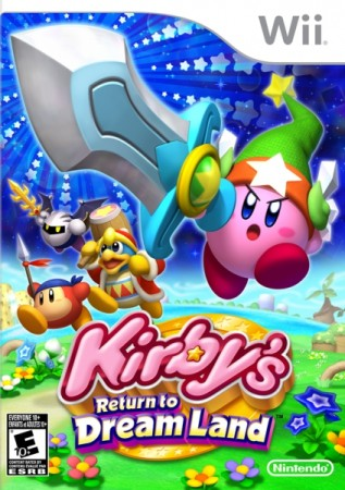 Kirby's Adventure (import USA) sous blister - Wii