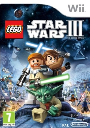 Lego Star Wars III - The Clone Wars - Wii